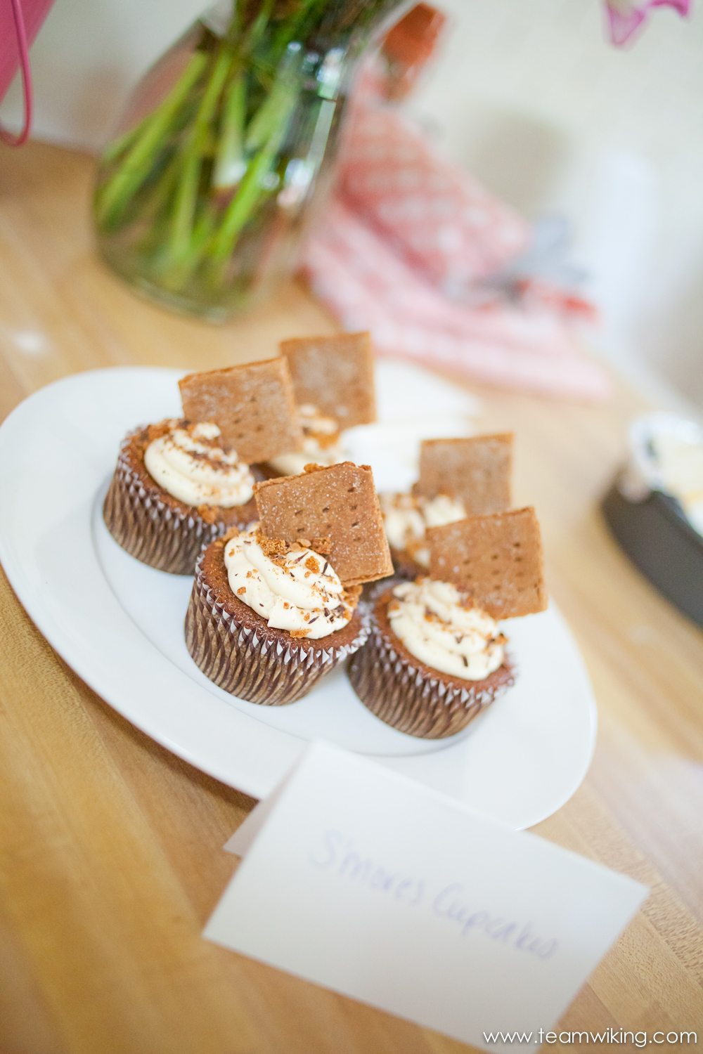 S'Mores Cupcakes at Cupcakes and Champagne 4
