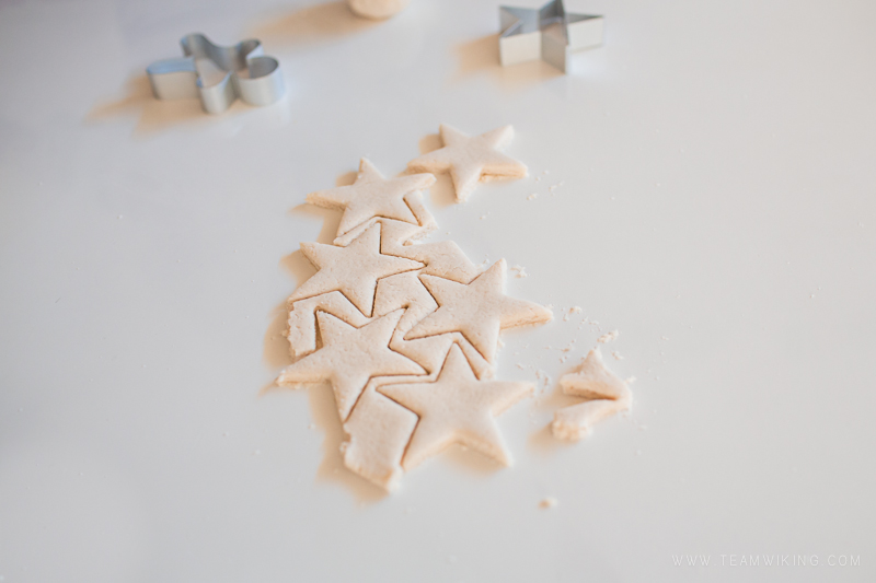 How to make salt dough ornaments, perfect for holiday decor!