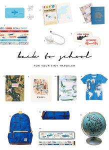 Travel Inspired Back To School