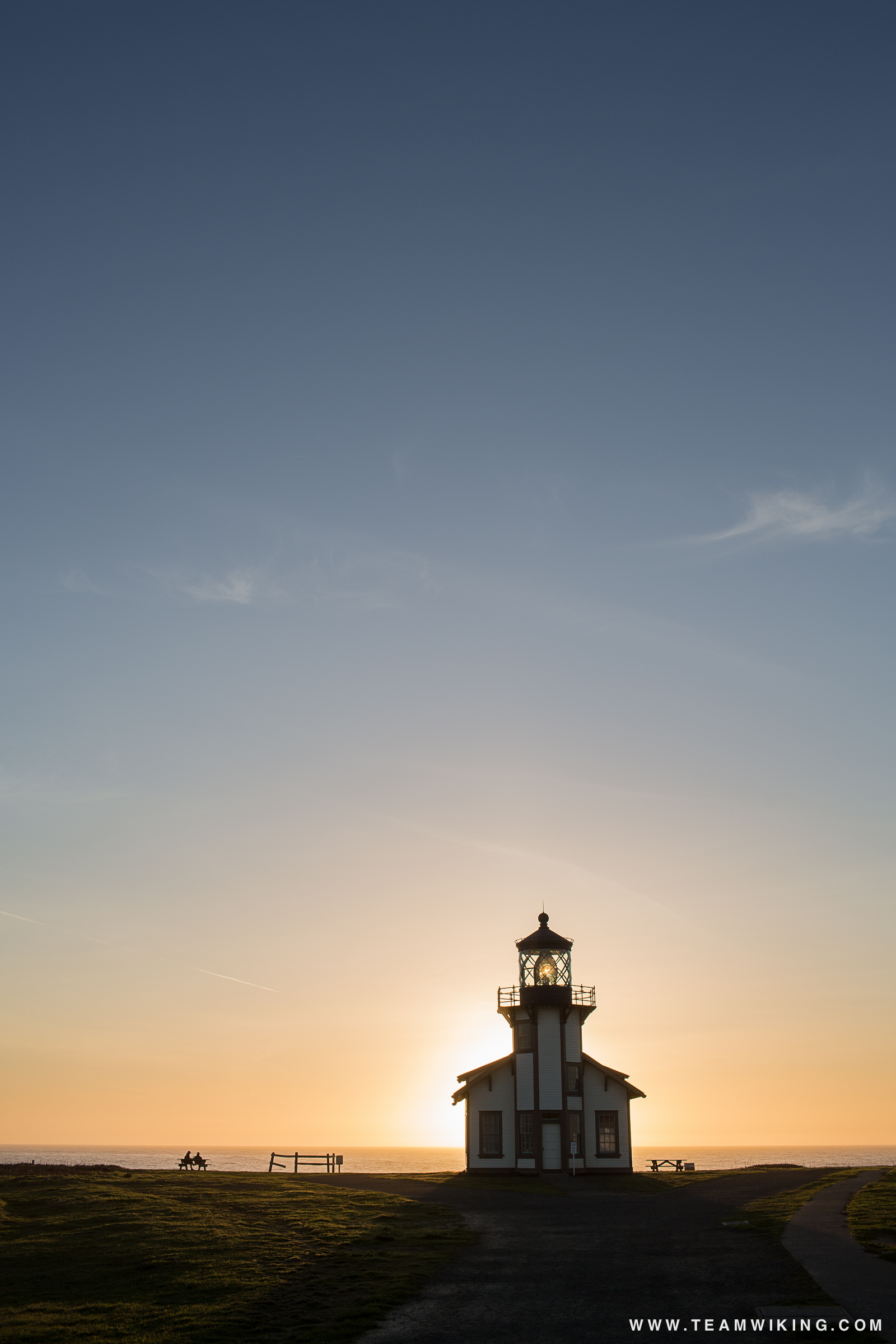 Point Cabrillo Lighthouse near Mendocino, California