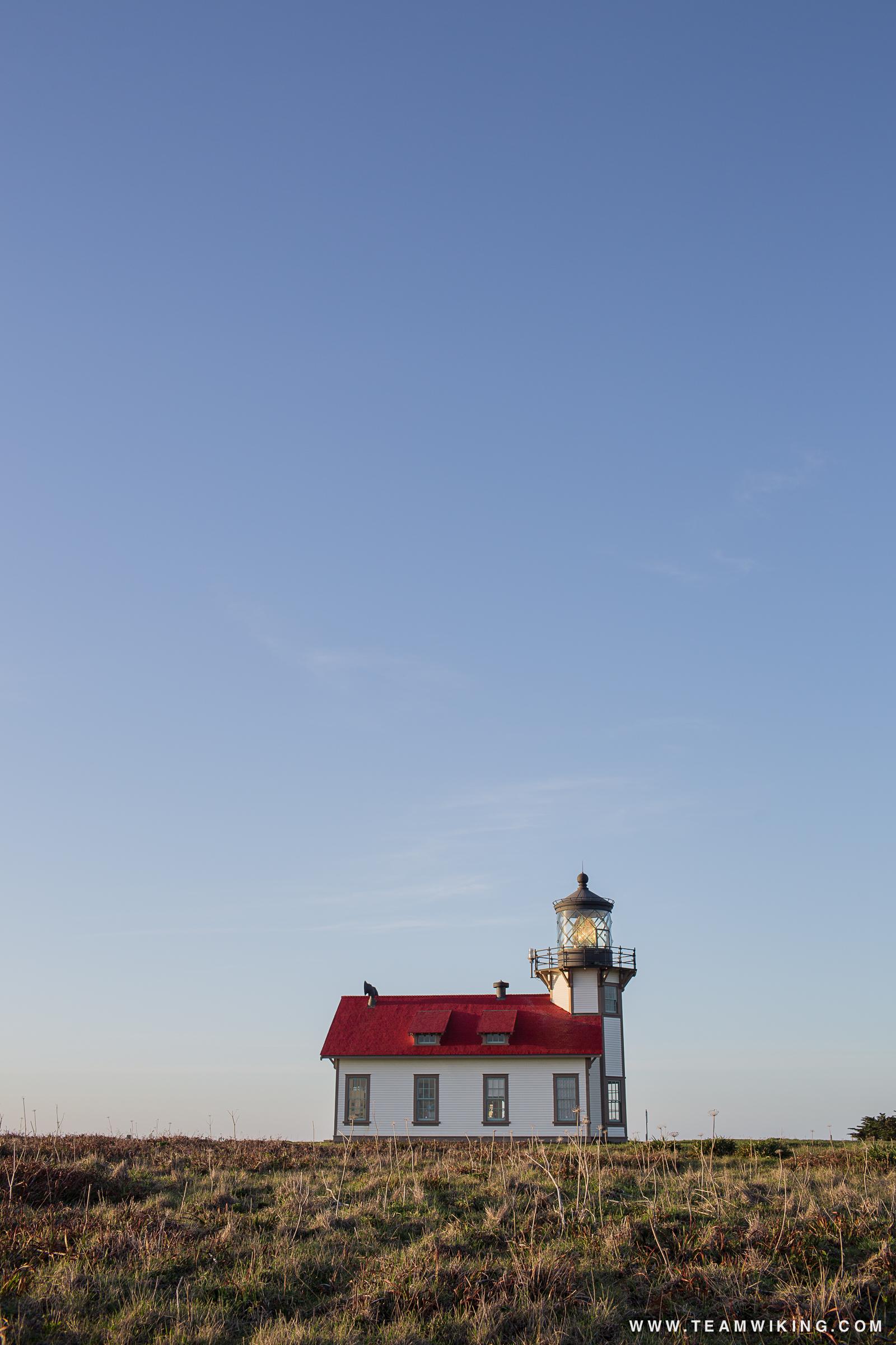 Point Cabrillo Lighthouse near Mendocino, California