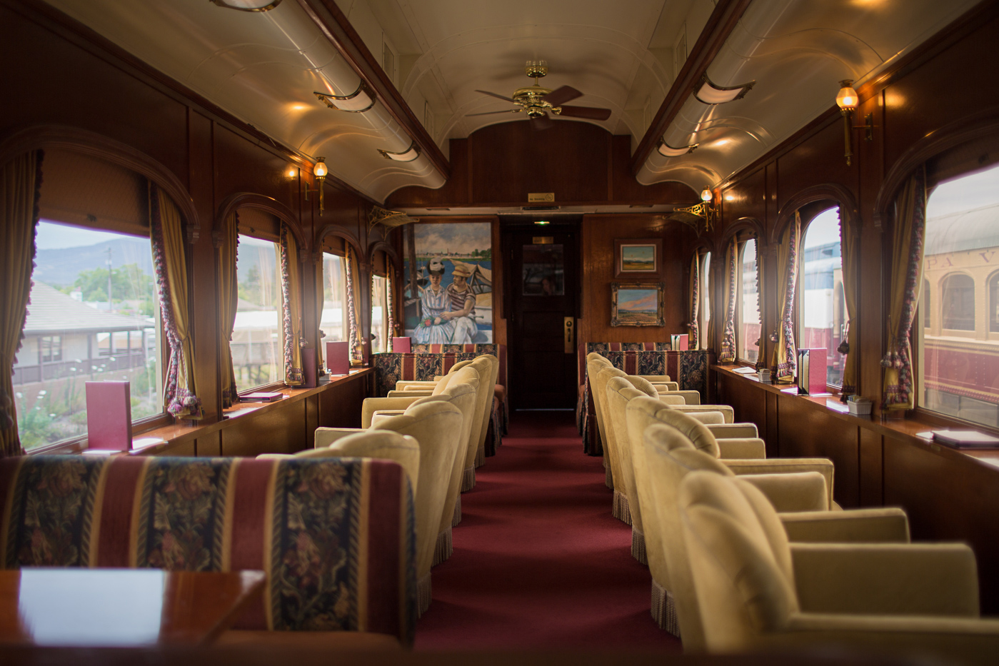 Riding the Napa Wine Train