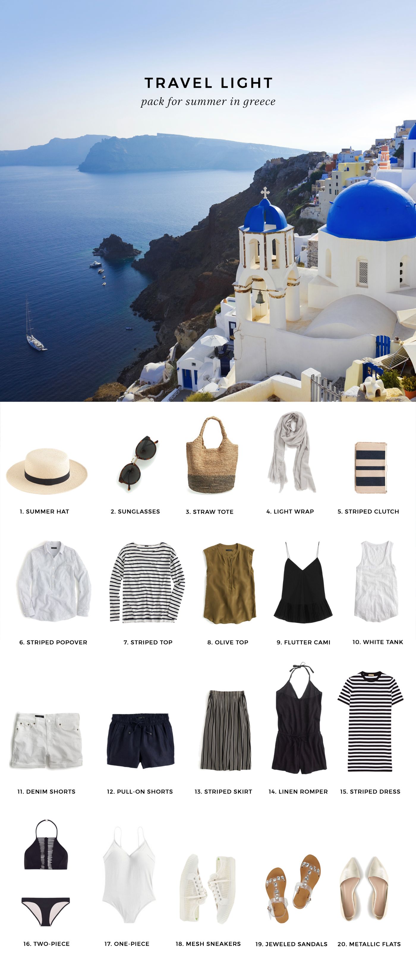 What To Pack For Greece In Summer Hej Doll Bloglovin