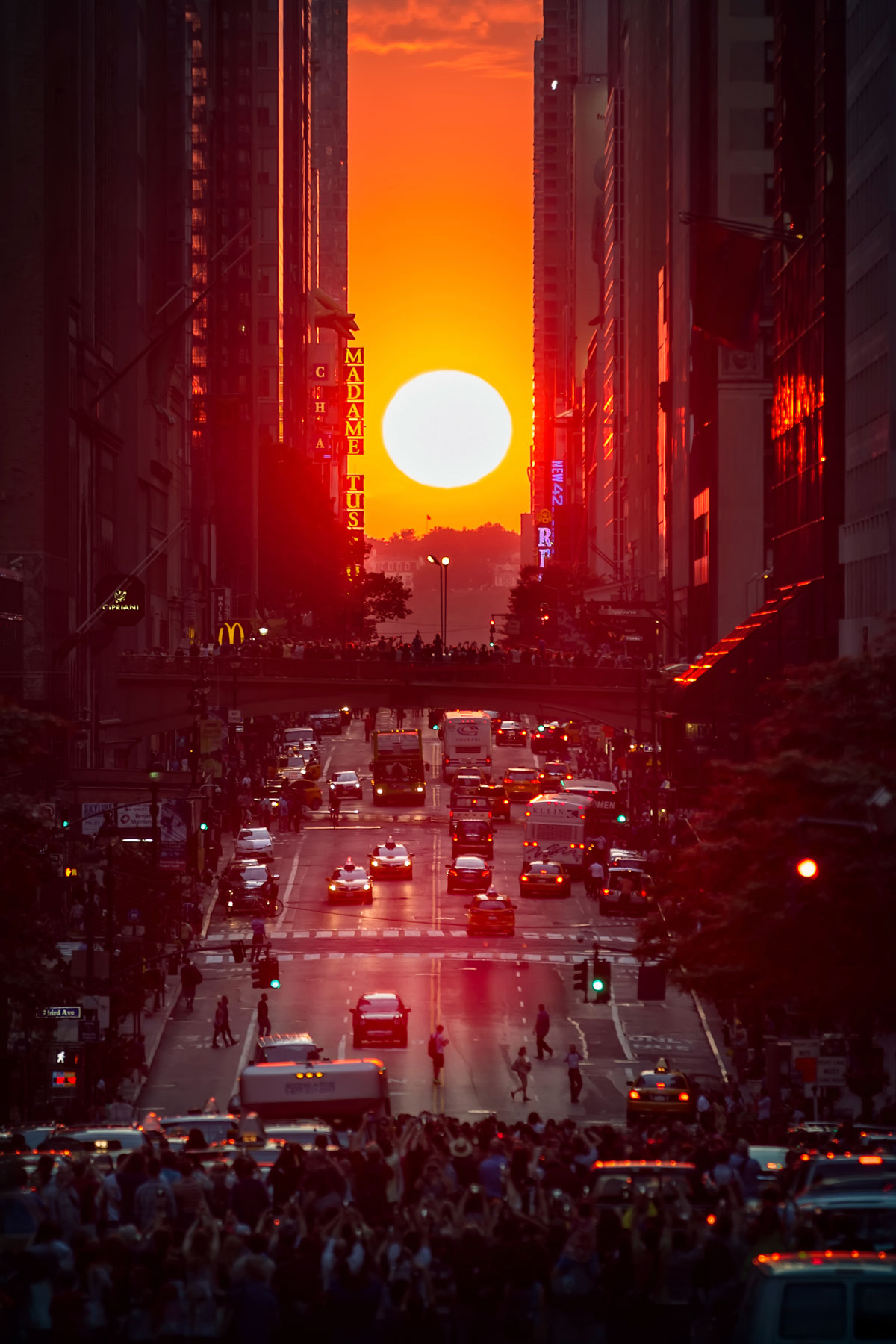Travel Wish List, a New York City Sunset