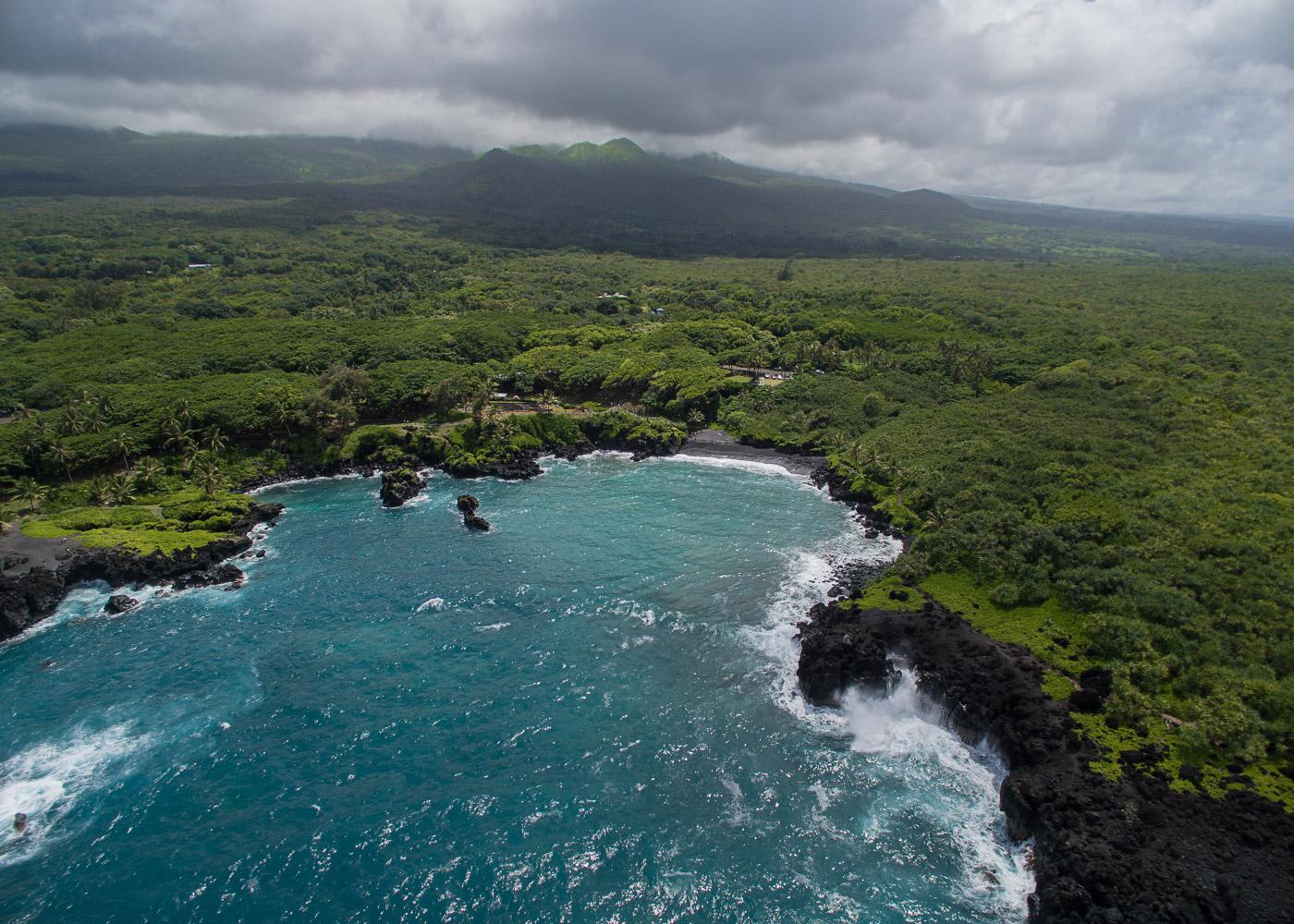 Wai'anapanapa State Park on the island of Maui