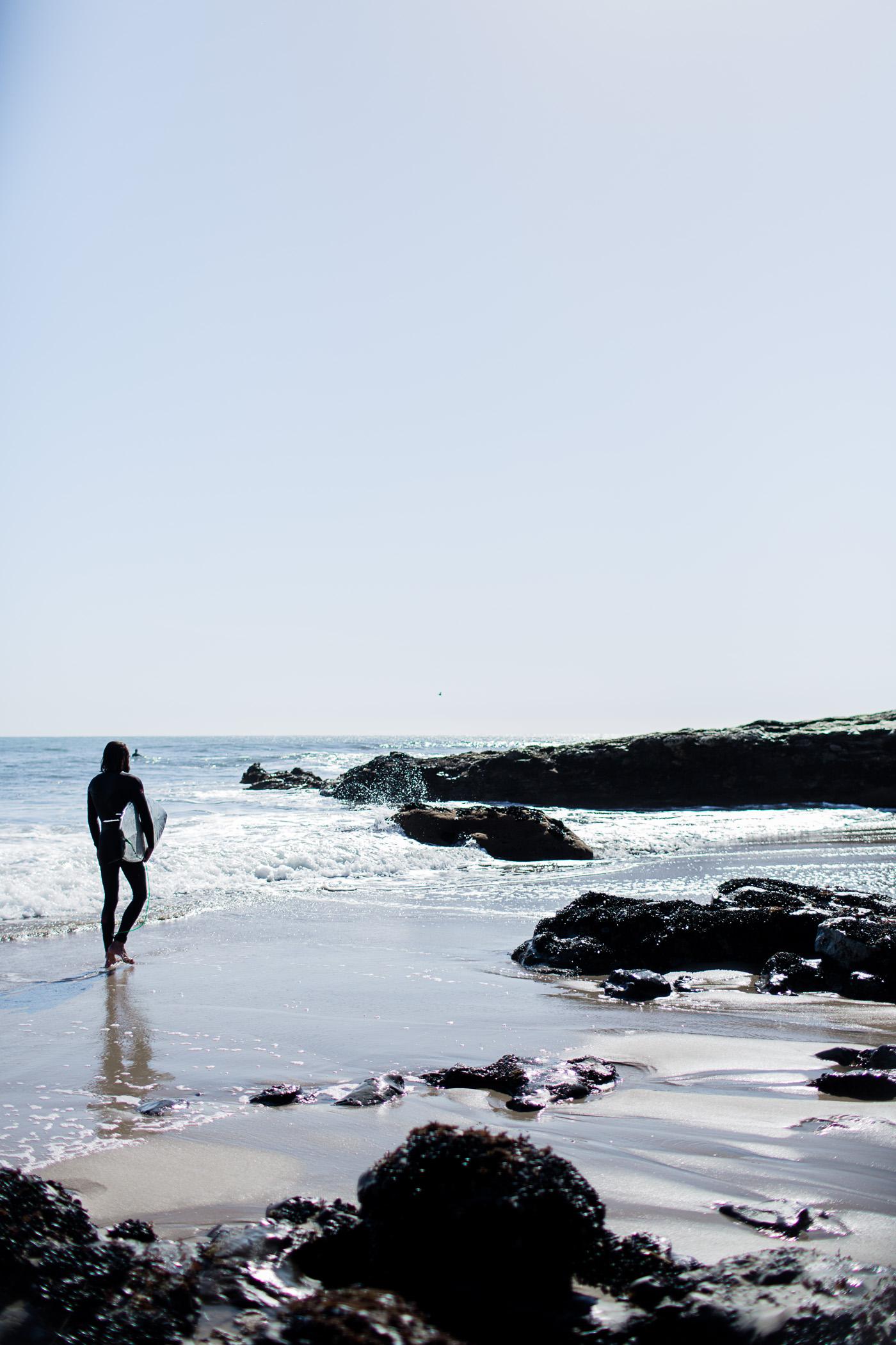 Mitchell's Cove Beach in Santa Cruz, California