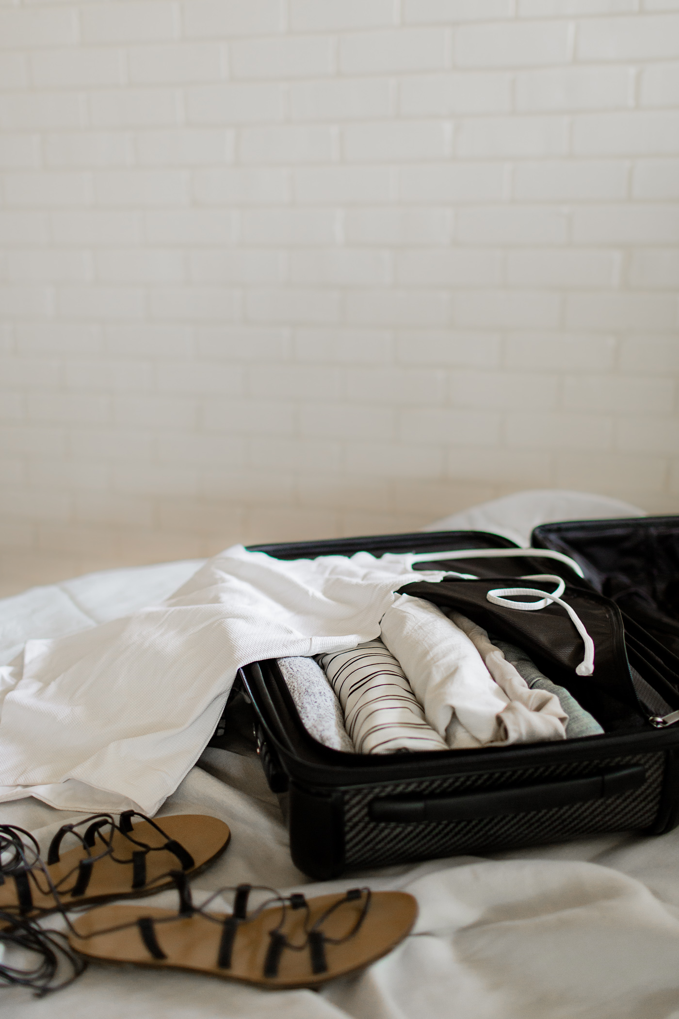 5 easy tips for how to make extra room in your suitcase, for your flight home or souvenirs, or just to pack a few necessities.