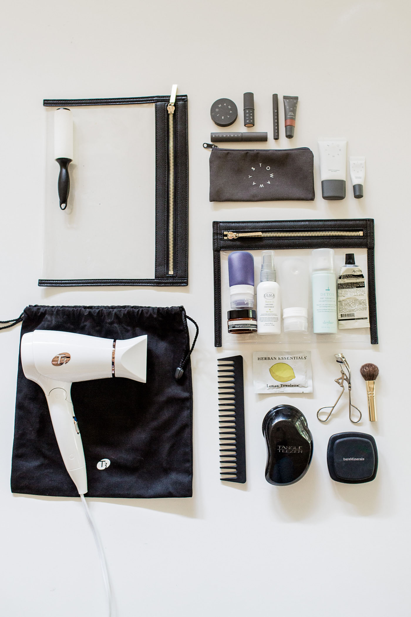 Travel Light: How to pack your beauty goodies, in a carry-on.