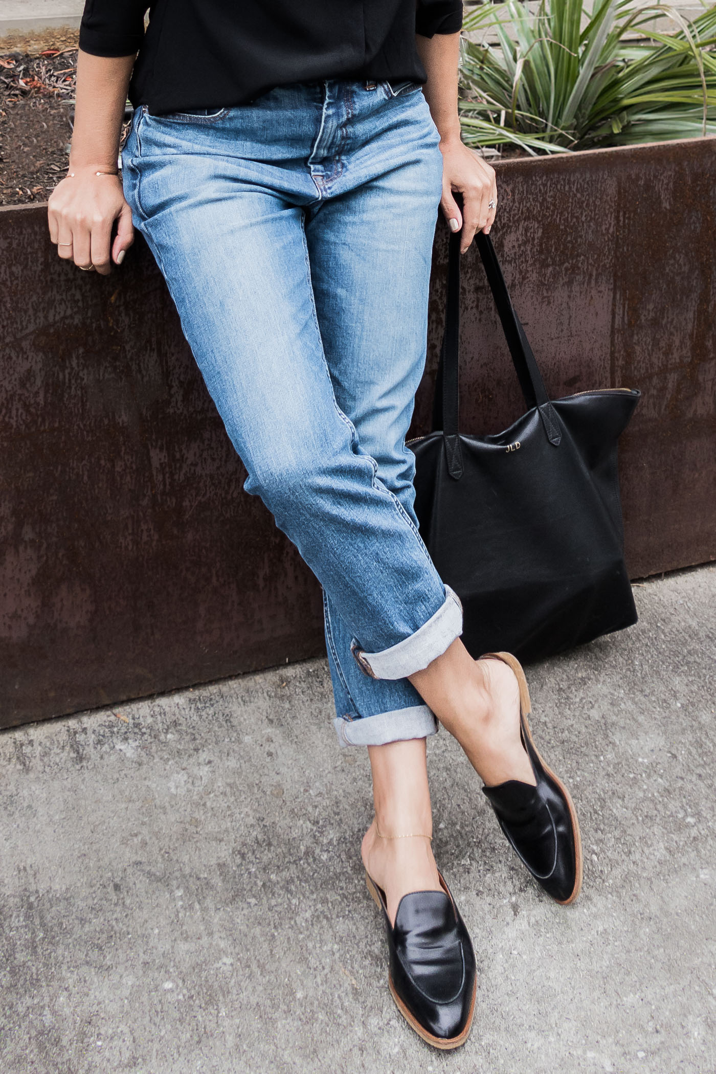 Everlane's feel good denim. Eco-friendly, affordable, great fit.