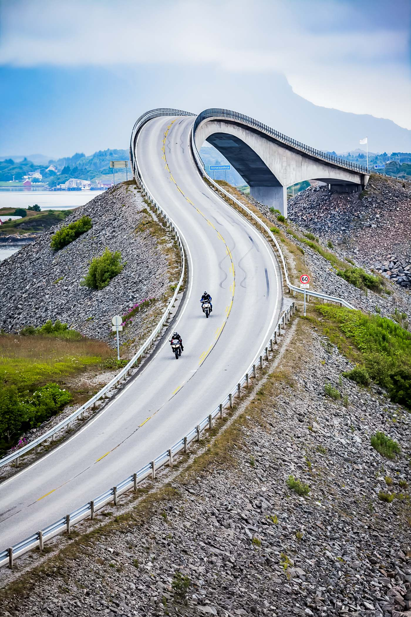 Atlantic Ocean Road in Norway is on my 2018 Travel Wishlist