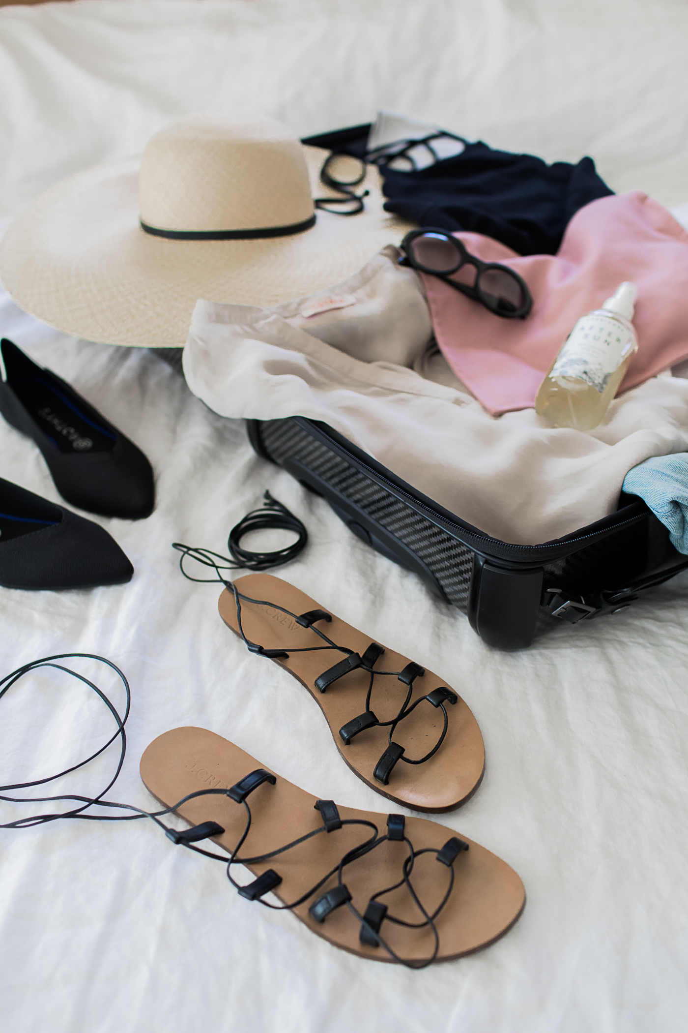 Travel Light : Cold to Warm Climate Packing