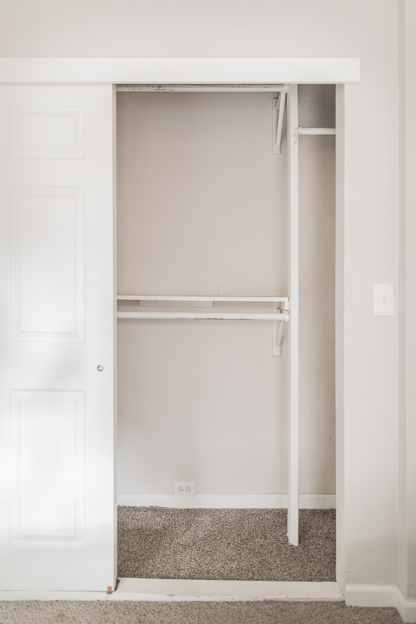 An Ikea Closet Makeover Before & After
