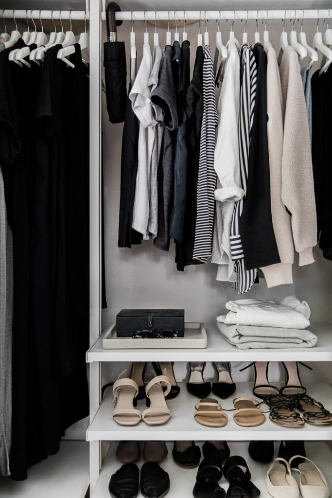 My Minimal Closet in 2019 Hej Doll | Simple modern living
